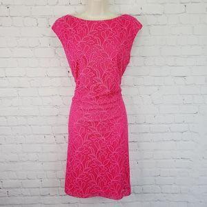 Chaps Lace Cocktail Dress